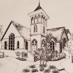 Sketch of the Radford Presbyterian Church